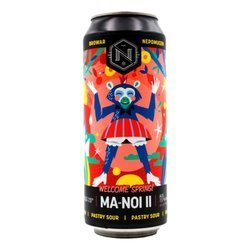 Browar Nepomucen: Ma-Noi II Welcome Spring! Pastry Sour - puszka 500 ml