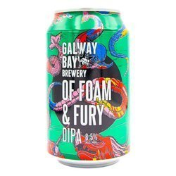 Galway Bay Brewery: Of Foam and Fury - puszka 330 ml
