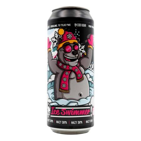 Browar Deer Bear: Ice Swimmer Hazy DIPA - puszka 500 ml