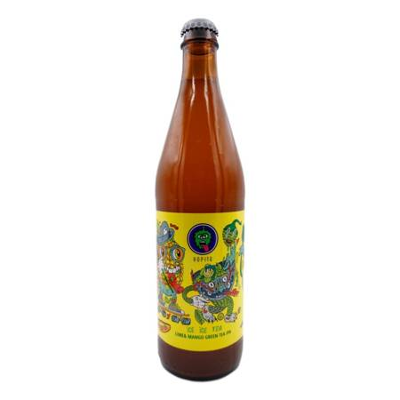 Browar Hopito: Ice Ice Tea Lime & Mango Green Tea IPA - butelka 500 ml
