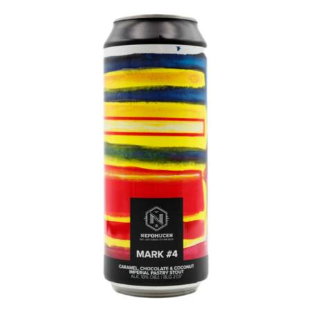 Browar Nepomucen: Mark #4 Caramel, Chocolate & Coconut Imperial Pastry Stout - puszka 500 ml
